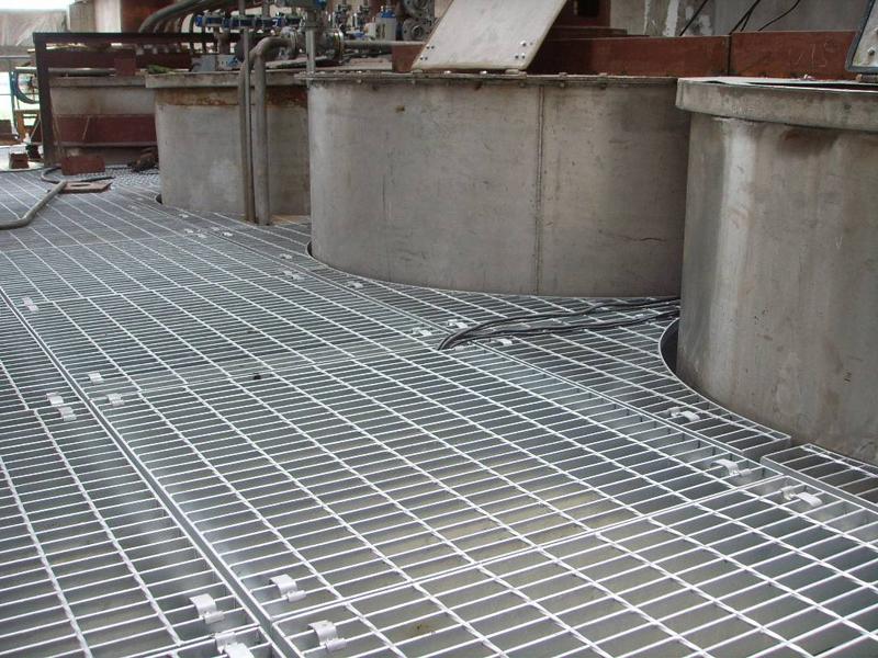 化工厂钢格板应用案例